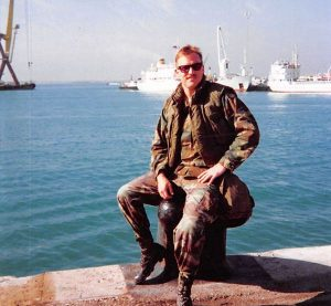 Dr Scott Laudon in the Military